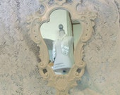 RESERVED for ETHEREALSWEET, Ornate Vintage Wall Mirror