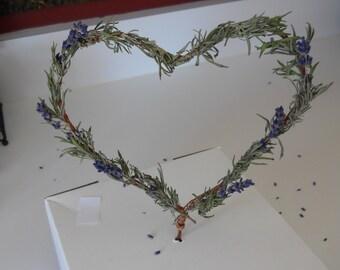 Wedding  Cake Topper Heart