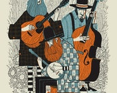 Bluegrass Band silkscreen