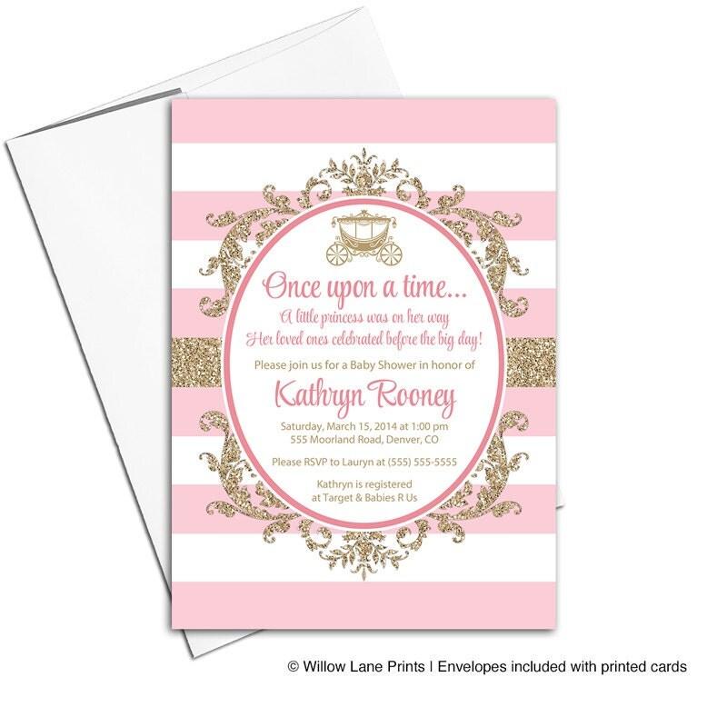 Princess Baby Shower Invitations. princess baby shower invitations ...