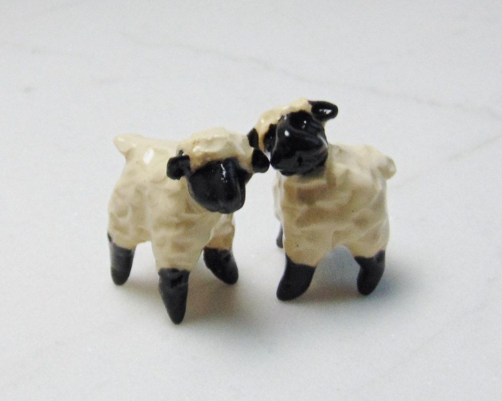 Sheep Terrarium Miniature Lamb Figurines Terrarium