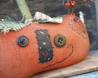 Primitive Halloween Jack O'Lantern