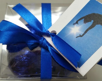 8 Bath Bombs in Gift Box 1.6 oz each foil wrapped - Ultra Moisturizing- shea & Cocoa Butter - Perfect for Dry Skin