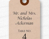 Listing for Kristy - 71 Escort Card Tags