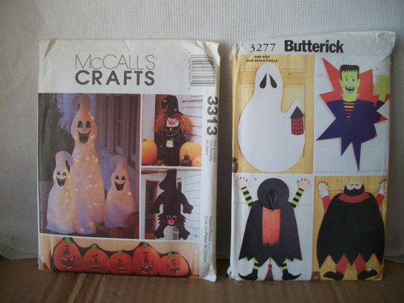 Halloween Craft Pattern McCall