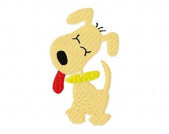 Dog // Doggy // Puppy // Machine Embroidery Design // Joyful Stitches