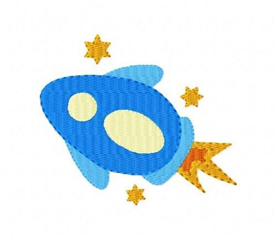 Space ship machine embroidery design joyful stitches joyful for Space embroidery designs