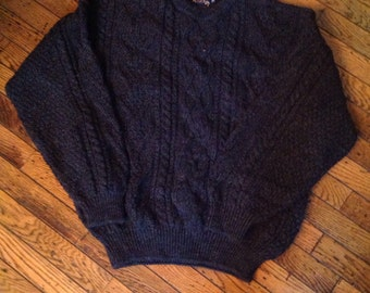 Mens Acorn Great Britain Pre New Wool Sweater Sz M