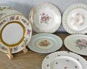 Vintage China Dinner Plates Set Of 10 Mismatched Vintage Wedding China Noritake Limoges Royal Staffordshire Crown Bavaria Warwick Rosenthal