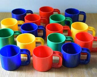 Vintage Plastic Mug Cup Ingrid Chicago