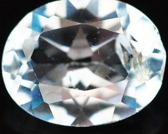 1.80 Ct. Ravishing Natural Genuine Gemstone Oval Sky Blue Topaz - Free shipping