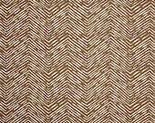 SALE Premier Prints Fabric Brown Herringbone Fabric Cameron Drew Italian Brown