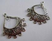 Silver Chandelier Earring...