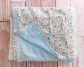 RESERVED Vintage Quilt / Vintage Bedding / Flannel Quilt
