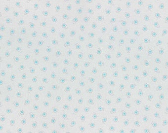 SALE Petite blue flowers from Flower Sugar Spring 2015 by Lecien of Japan 31132L-90