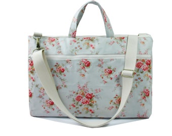 Waterproof- Macbook or Laptop bag with handles and detachable shoulder strap -Ready to ship
