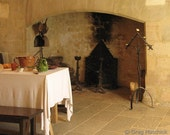 Fine Art Color Food Photography of French Kitchen in Castelnaud