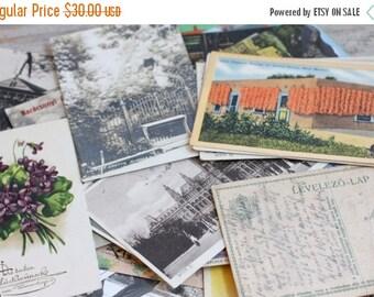 Lot of Very Old Postcards, Vintage Postcards 1909-1940s, 1930s Postcards, Japanese Postcards, German, California, Religious, Travel Souvenir