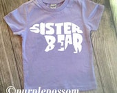 Big Sister Shirt Bear Shirt Hipster Sister Shirt Sister Tshirt Big Sister Arrow theme shirt Big Sis Shirt Pregnancy Announcement