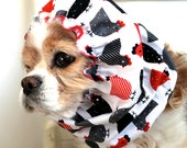 Chickens Dog Snood, Long Ear Coverup, Cavalier King Charles or Cocker Snood
