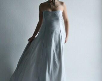 Wedding Dress, Wedding Gown, Ice blue Wedding Dress, Bridal gown, Princess wedding gown, ballgown, Aline wedding dress, Silk wedding dress