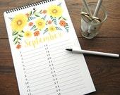 Perpetual Calendar - Birthday Calendar
