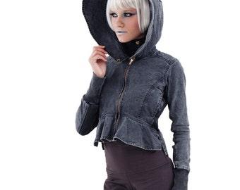 Sale Canvas large hood  jacket
