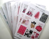 18 Full Box Stickers MP05 Glam Christmas / New Years Eve  I Fashion & Makeup Stickers fit Mambi Happy Planner, Erin Condren, Midori, etc