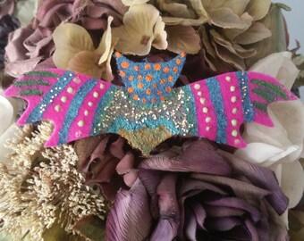 Colorful Design Bat Hair Clip