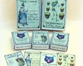 Dollhouse Witch Boxes Kit 1:12 Witchy Items, Wiccan Magic Spells, Digital Download