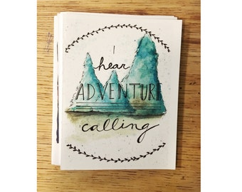 ADVENTURE (folded cards) pack of 10