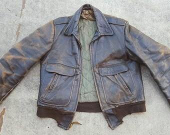 40s Horsehide Motorcycle Jacket