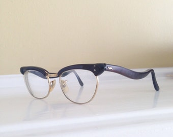Vintage Algha Eyeglasses, Mantor, Topline