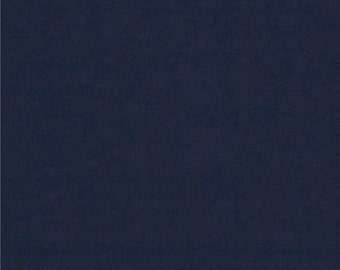 Navy Blue 4 Way Stretch 8oz Rayon Spandex Jersey Knit Fabric, 1 Yard