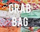 Knit Bow Headband Grab Bag -- Set of 5
