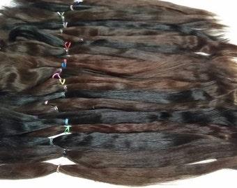 Alpaca Doll Hair / BJD / MSD / Combed Doll Hair / Re root / Combed Suri Alpaca / Wig / Pullip (324)