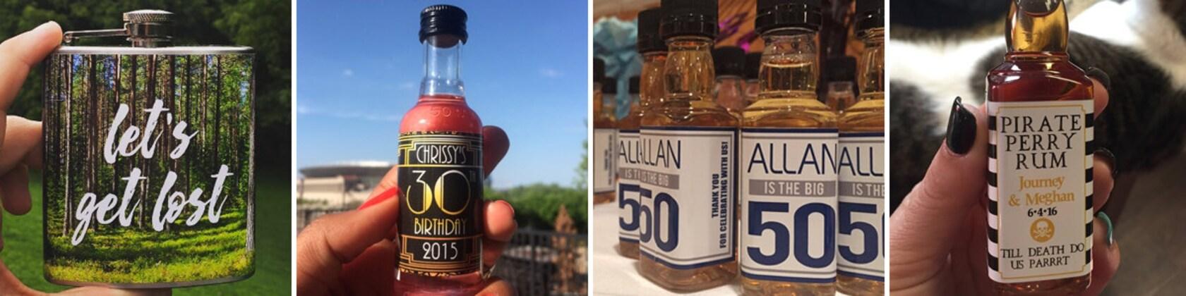 Custom Flasks Liquor Bottle Labels Amp Bottle By Liquidcourage