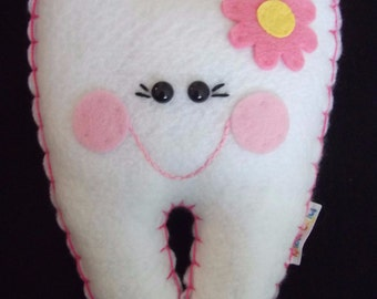 Tooth Fairy Pillow - Girl - Personalized