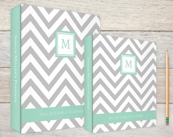 3-Ring Binder Simply Chevron