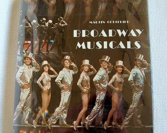 "Vintage Martin Gottfried ""Broadway Musicals"" 1984 Edition Hardcover 352 Pages   CB339"