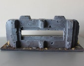 Wargame terrain bunker for 28mm figs such as Warhammer 40K