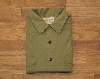 mens vintage Boy Scout uniform shirt