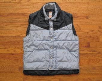 mens vintage Frostline down vest