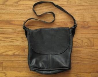 vintage navy Coach Whitney shoulder bag