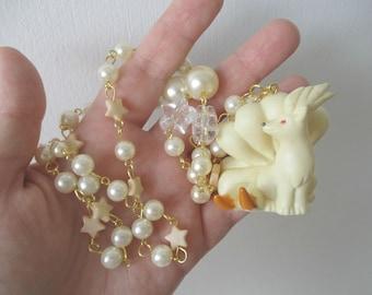 Pokémon Necklace - NINETALES  Figure Necklace - 90s