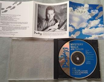 Mystery Walk, Guitar by Joe Taylor, Vintage 1987 Music CD Album, Intersound Projazz #CDJ635,