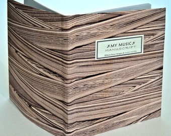 MY MUSIC Manuscript BOOK - In Movement