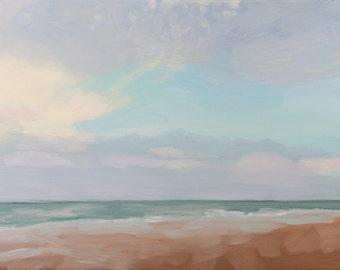 Beach at Sunset - NC Beach - Emerald Isle - Ocean