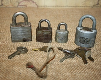Vintage Locks - Master Lock, Corbin - item #1293