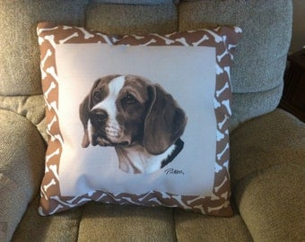 Beagle Dog Climaweave Pillow